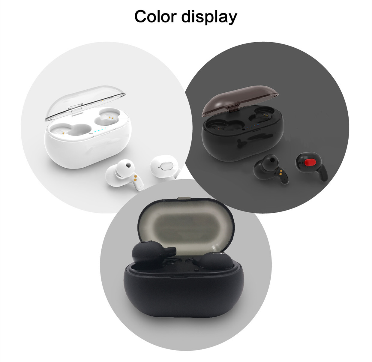 Earbuds bluetooth wireless for iphone - cute earbuds for iphone 8